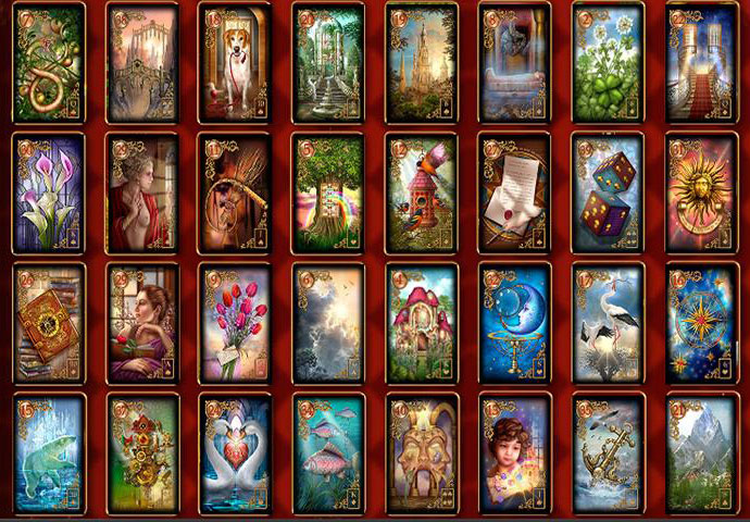 Lenormand Kartenset